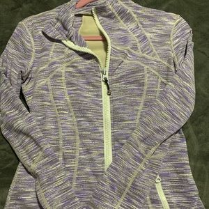 Size 8 purple/gray define jacket